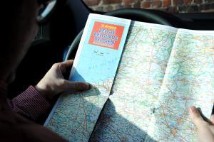 De Rouck wegenkaart