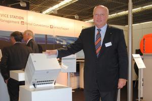Horst von Wels, Vice-President van Wincor Nixdorf.