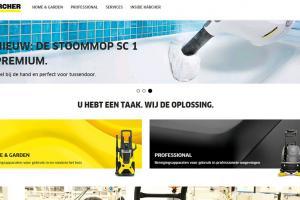 Nieuwe Kärcher-website is online