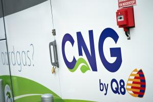Q8 opent 2de CNG station in Turnhout
