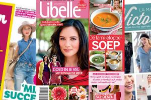 Roularta service station magazine for Sanoma magazines belgium